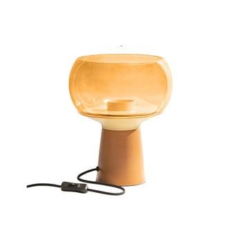 Veioză din metal BePureHome, înălțime 28 cm, portocaliu imagine