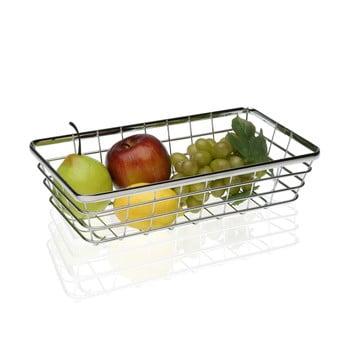 Coș din oțel pentru fructe Versa Chrome, 32x18 cm bonami.ro