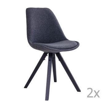 Set 2 scaune House Nordic Bergen, gri poza bonami.ro