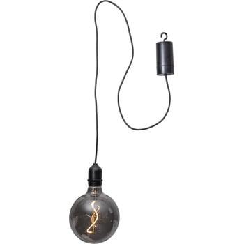 Decorațiune luminoasă pentru exterior cu LED Best Season Glassball, lungime 1 m, negru bonami.ro