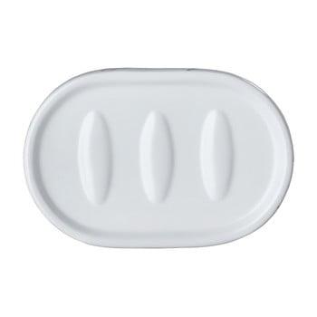 Săpunieră din ceramică Wenko Adrada, alb poza bonami.ro