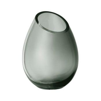 Vază din sticlă Blomus Raindrop, înălțime 16,5 cm, verde poza bonami.ro