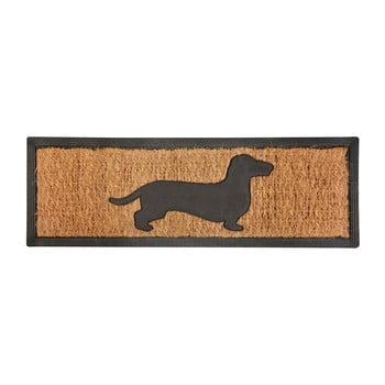Covoraș intrare din fibre de cocos Esschert Design Dog, 25 x 75 cm bonami.ro