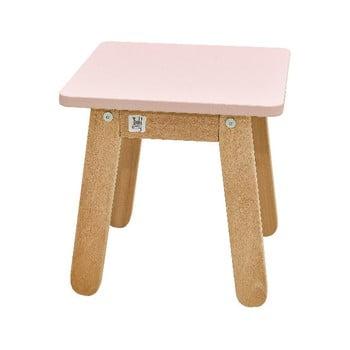 Scaun pentru copii BELLAMY Woody, roz deschis bonami.ro