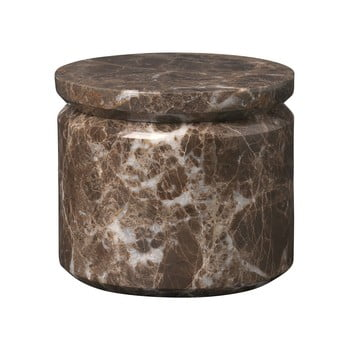 Cutie de depozitare din marmură Blomus Marble, ø 9 cm, maro poza bonami.ro