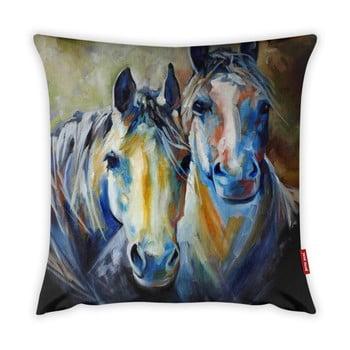 Față de pernă Vitaus Horses Art, 43 x 43 cm bonami.ro