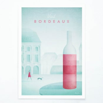 Poster Travelposter Bordeaux, A2 bonami.ro