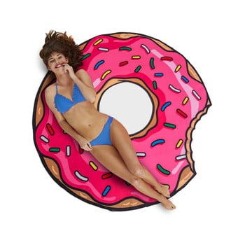 Pătură pentru plajă Big Mouth Inc. Donut, ⌀ 152 cm bonami.ro