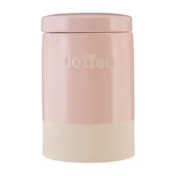 Recipient din ceramică pentru cafea Premier Housewares, 616 ml, roz poza bonami.ro