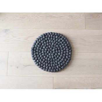 Pernă cu bile din lână pentru copii Wooldot Ball Chair Pad, ⌀ 30 cm, antracit bonami.ro