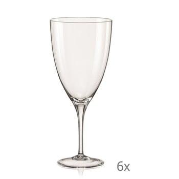 Set 6 pahare pentru vin Crystalex Kate,500ml poza bonami.ro