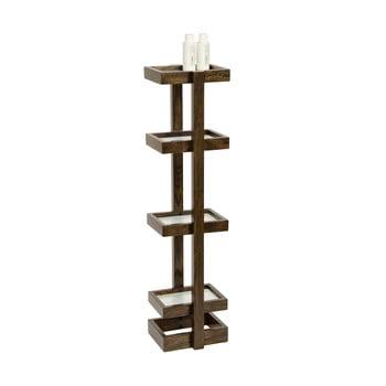 Suport din lemn pentru baie, Wireworks Caddy Mezza Dark, 73 cm