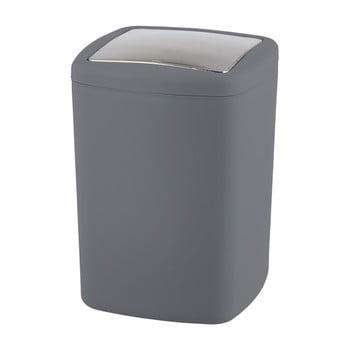 Coș de gunoi Wenko Barcelona L, înălțime 28,5 cm, gri antracit bonami.ro