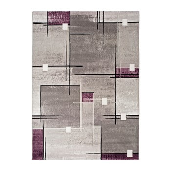 Covor Universal Detroit, 200 x 290 cm, gri - violet imagine