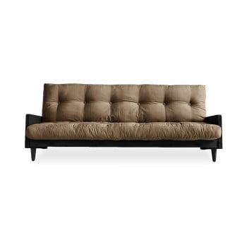 Canapea extensibilă Karup Design Indie Black/Mocca, maro bonami.ro