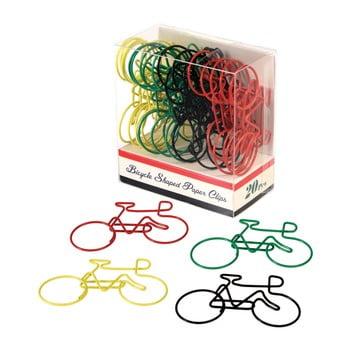 Set 20 agrafe pentru hârtie Rex London Le Bycicle bonami.ro