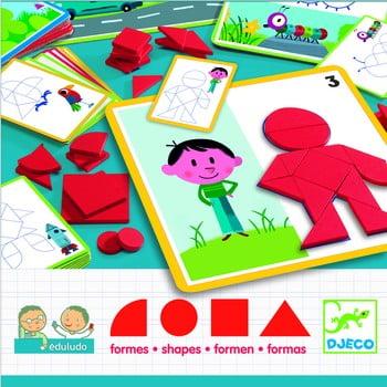 Joc pentru copii Djeco Shapes poza bonami.ro