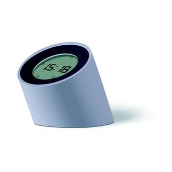 Ceas deșteptător cu LED Gingko Edge, gri bonami.ro