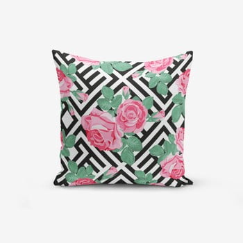 Față de pernă cu amestec din bumbac Minimalist Cushion Covers Mix Rose, 45 x 45 cm bonami.ro
