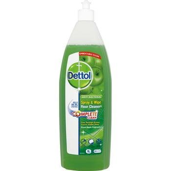 Detergent antibacterian pentru podea cu parfum de măr verde Dettol, 1l bonami.ro