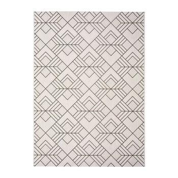 Covor pentru exterior Universal Silvana Caretto, 120 x 170 cm, bej-alb poza bonami.ro