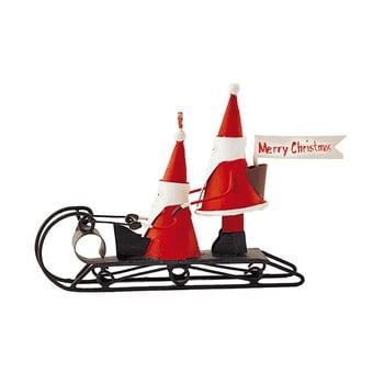 Decorațiune pentru Crăciun G-Bork Santas on Sledge poza bonami.ro