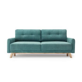 Canapea extensibilă Bobochic Paris Balio, turcoaz imagine