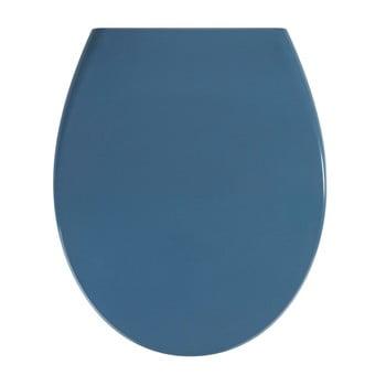 Capac WC Wenko Samos, 44,5 x 37,5 cm, albastru închis bonami.ro