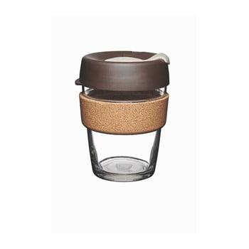 Pahar de voiaj cu capac KeepCup Brew Cork Edition Almond, 340 ml bonami.ro