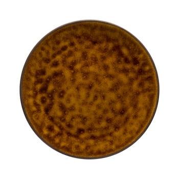 Farfurie/platou din gresie ceramică Costa Nova Roda, ⌀ 28 cm, maro poza bonami.ro