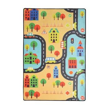 Covor copii Road, 140 x 190 cm bonami.ro