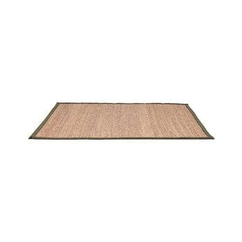 Covor din fibre de cânepă LABEL51 Green, 140x160cm imagine