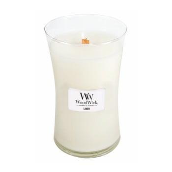Lumânare cu parfum de rufe proaspăt spălate WoodWick, 110 ore bonami.ro