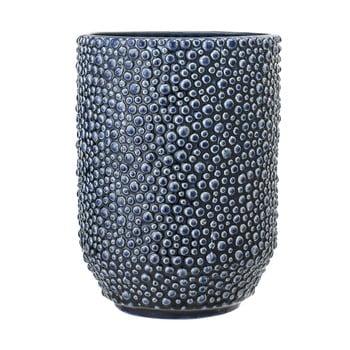 Vază din ceramică Bloomingville Vase, albastru poza bonami.ro