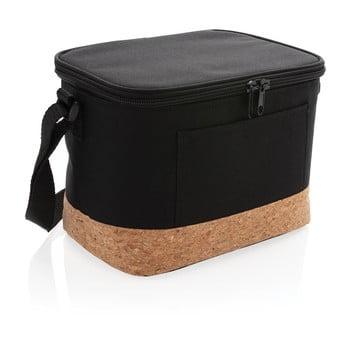 Geantă termoizolatoare cu detalii din plută XD Collection, negru poza bonami.ro