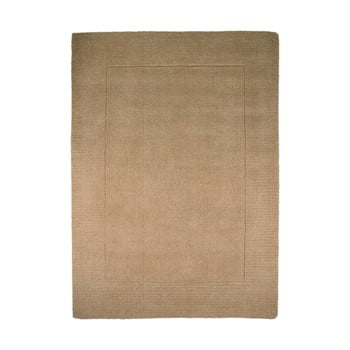 Covor din lână Flair Rugs Siena, 160 x 230 cm, maro imagine