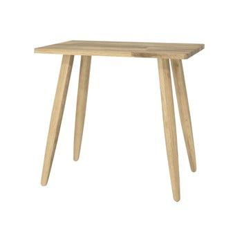 Scaun din lemn de stejar Canett Uno bonami.ro