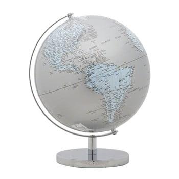Glob decorativ Mauro Ferretti Mappamondo Silver, ⌀ 25 cm poza bonami.ro