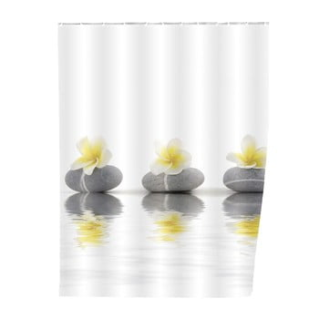 Perdea duș Wenko Meditation 180x200cm bonami.ro