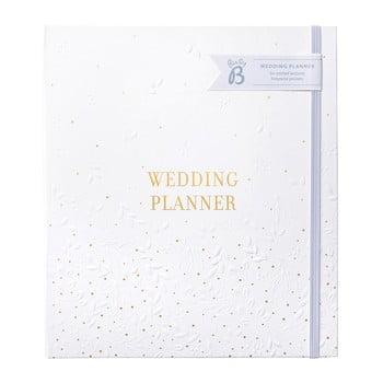 Planificator de nunta cu buzunare pentru depozitare Busy B,alb poza bonami.ro