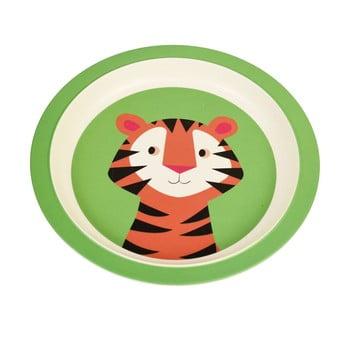 Farfurie din bambus pentru copii Rex London Teddy the Tiger bonami.ro