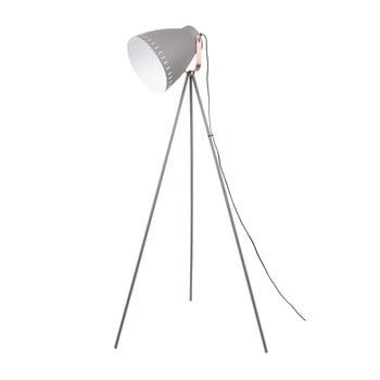 Lampadar Leitmotiv Mingle, gri cu detalii arămii imagine