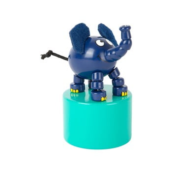 Elefant din lemn cu suport Legler Die Maus bonami.ro