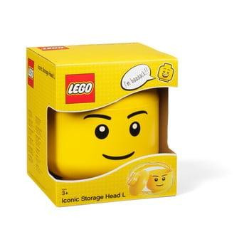 Figurină depozitare LEGO® Boy, Ø 16,3 cm bonami.ro