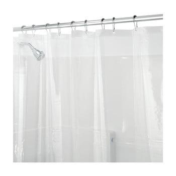Perdea de duș transparentă iDesign PEVA, 200x180cm poza bonami.ro