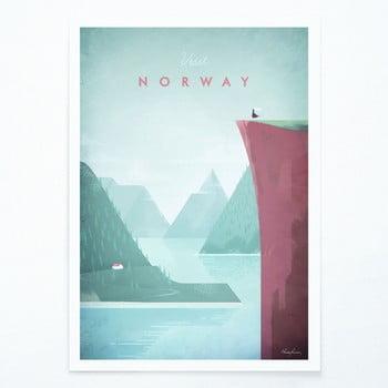 Poster Travelposter Norway,A3 bonami.ro