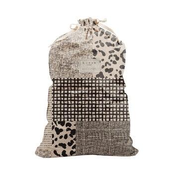 Sac textil pentru rufe Linen Bag Leopard, înălțime 75 cm bonami.ro
