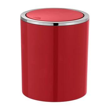 Coș de gunoi Wenko Inca, 2 l, roșu bonami.ro