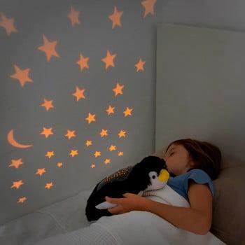 Jucărie de pluș cu proiector LED InnovaGoods Penguin poza bonami.ro