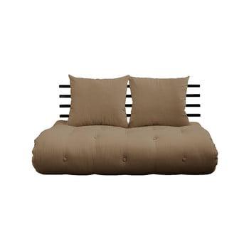Canapea extensibilă Karup Design Shin Sano Black/Mocca, maro